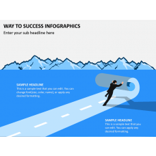 Way To Success Infographics PPT Slide 1