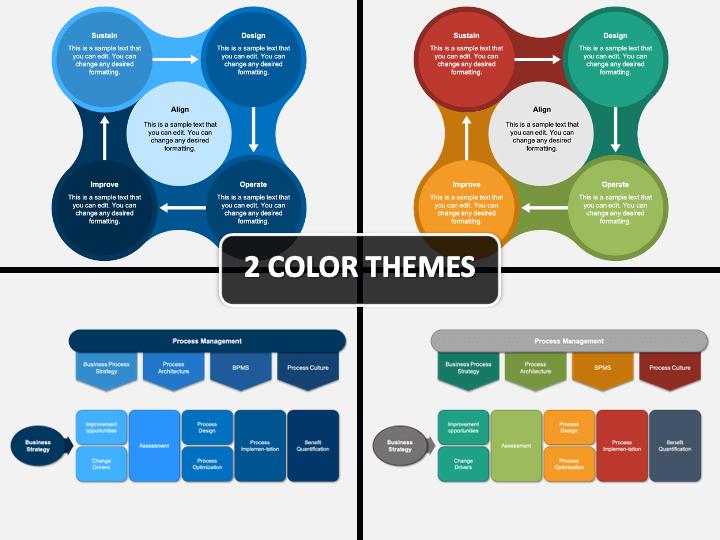 Business Process Design PPT Cover Slide