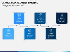 Change Management Timeline PPT Slide 3