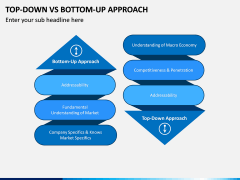 Top Down Vs Bottom Up PPT Slide 1