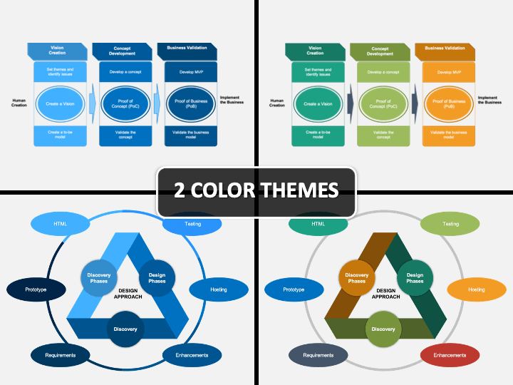 Design Approach PPT Cover Slide