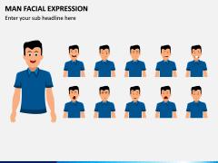 Man Facial Expression PPT Slide 5