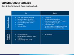 Constructive Feedback PPT Slide 6