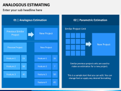Analogous Estimating PPT Slide 2