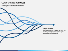 Converging Arrows PPT Slide 11