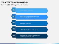 Strategic Transformation PPT Slide 3