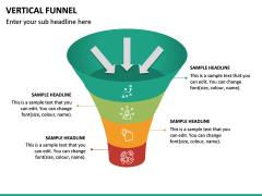 Vertical Funnel PPT Slide 21