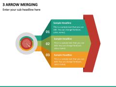 3 Arrow Merging PPT Slide 2