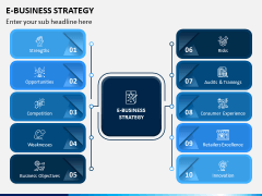 eBusiness Strategy PPT Slide 1
