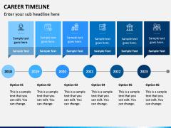 Career Timeline PPT Slide 6