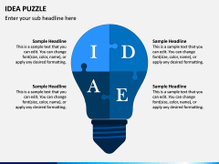 Idea Puzzle PPT Slide 5