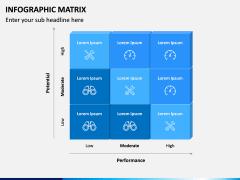 Infographic Matrix PPT Slide 1
