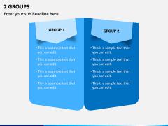 2 Groups PPT Slide 1