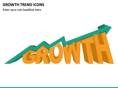 Growth Trend Icons PPT Slide 4
