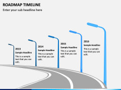 Roadmap Timeline PPT Slide 4