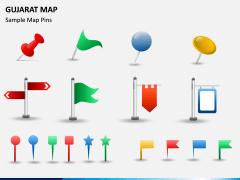 Gujarat Map PPT Slide 8
