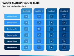 Features Matrix PPT Slide 3