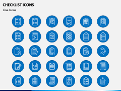 Checklist Icons PPT Slide 2