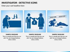 investigator Icons PPT Slide 4