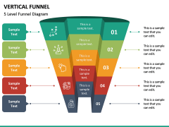 Vertical Funnel PPT Slide 22