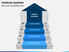 Staircase Diagram PPT Slide 1
