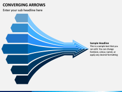 Converging Arrows PPT Slide 1