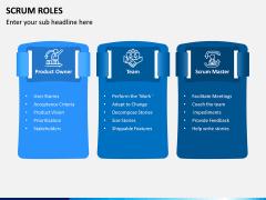 SCRUM Roles PPT Slide 1