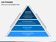 CSR Pyramid PPT Slide 1