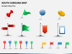 South Carolina Map PPT Slide 9