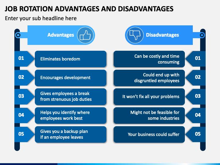 Job Rotation Advantages and Disadvantages PPT Slide 1