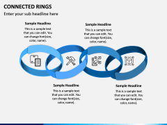 Connected Rings PPT Slide 3