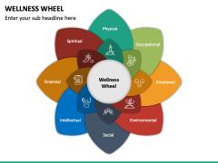 Wellness Wheel PPT Slide 3