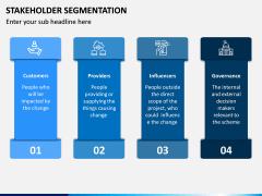 Stakeholder Segmentation PPT Slide 4