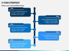 5 Year Strategy PPT Slide 1