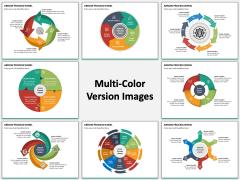 Arrow Process Wheel Multicolor Combined