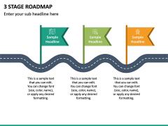3 Stage Roadmap PPT Slide 3