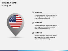 Virginia Map PPT Slide 6