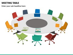Meeting Table PPT Slide 3