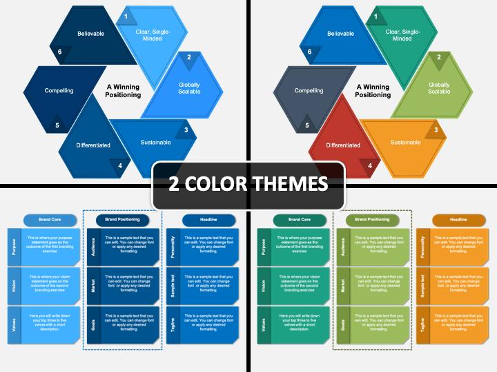 Brand Positioning Framework PPT Cover Slide