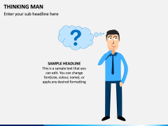 Thinking Man PPT Slide 5