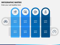 Infographic Matrix PPT Slide 4