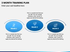 3 Month Training Plan PPT Slide 3