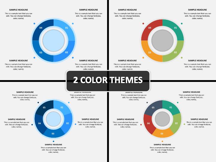 Donut Chart Infographic PPT Cover Slide