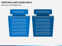 Open Skills and Closed Skills PPT Slide 6