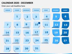 Calendar 2020 PPT Slide 12