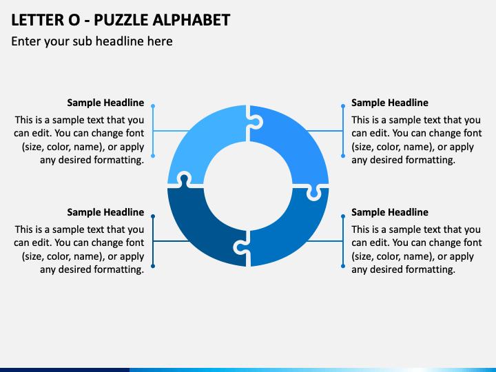 Letter O - Puzzle Alphabet PPT Slide 1