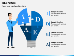 Idea Puzzle PPT Slide 2