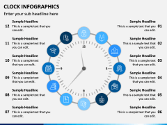 Clock Infographics PPT Slide 6