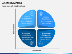 Learning Matrix PPT Slide 2