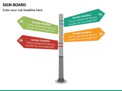 Sign Board PPT Slide 23